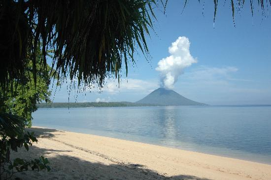 Siladen Island, Indonesia: The View from Resort