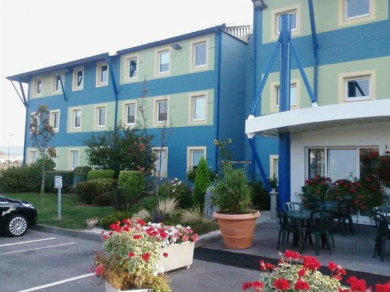 Mers Les Bains, France: entrée de l'hôtel