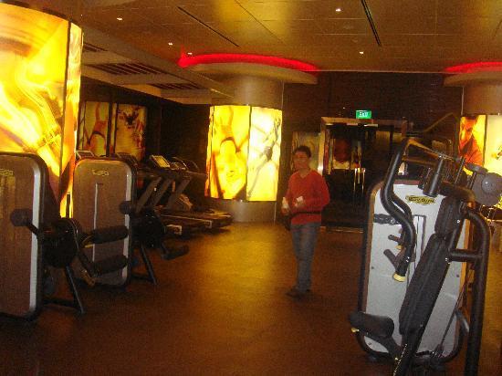 Pan Pacific Singapore: gym