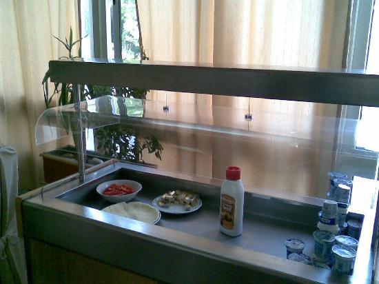 Hotel Sveti Kriz: Frühstückbuffet