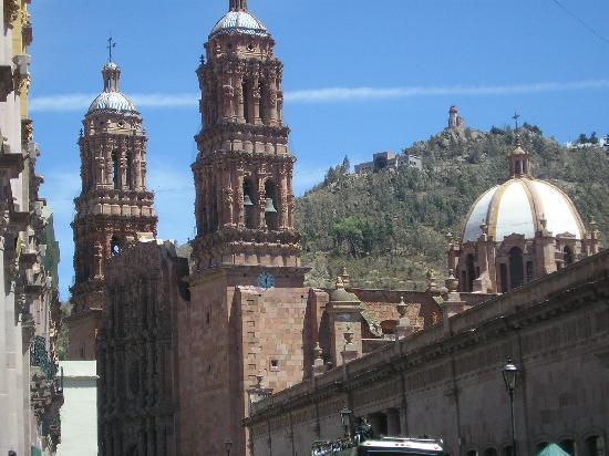 Posada De Los Condes Hotel : catedral y la bufa