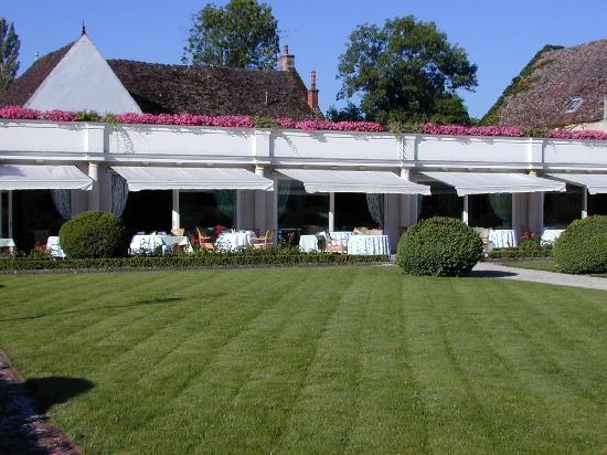 Relais & Chateaux - Hostellerie de Levernois : Restaurant