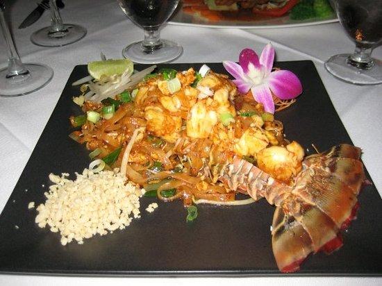 lobster pad thai mmmm - Thai Restaurants In Palm Beach Gardens Fl