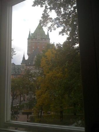 Auberge Place D'Armes: View from our room.