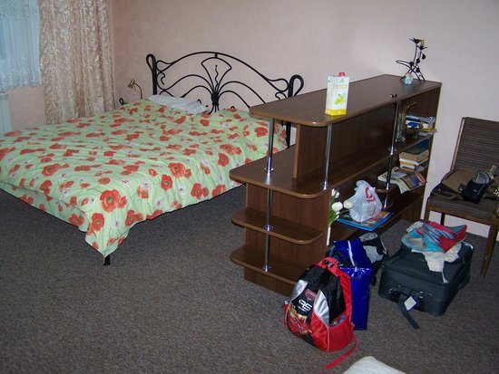Kolomyia, Ukraine: Our Room