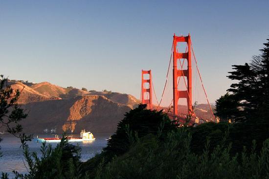 San Francisco, CA: The Golden Gate Bridge
