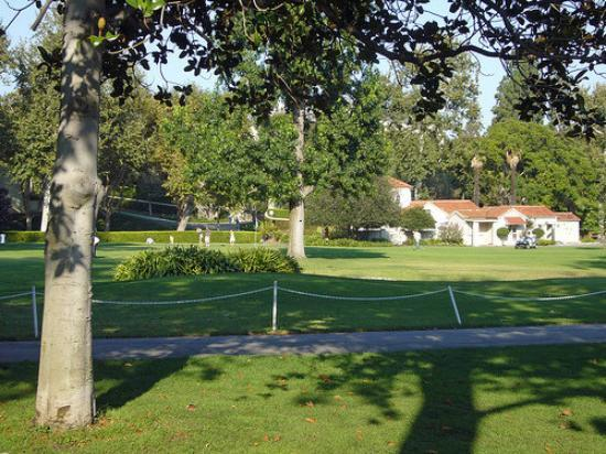 Holmby Park in Beverly Hills, California