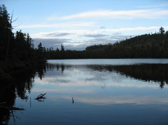lonely lake picture of gunflint lodge outfitters. Black Bedroom Furniture Sets. Home Design Ideas