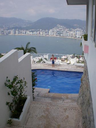 Las Brisas Acapulco: View of our private pool...