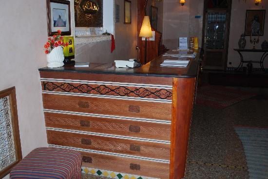 Royal Hotel : comptoire