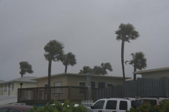 Seven Seas Resort: Tropical Storm Fay!