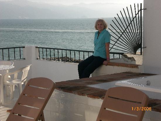 Marina de Oro: deck