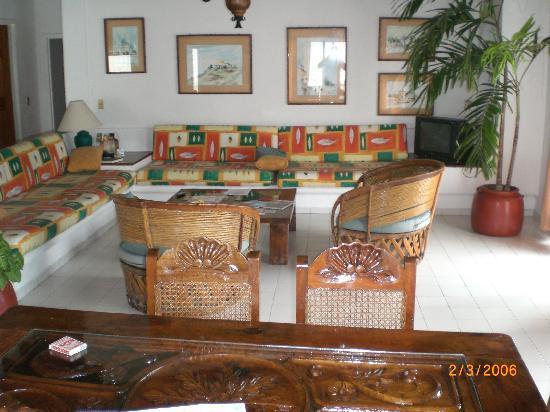 Marina de Oro: living room