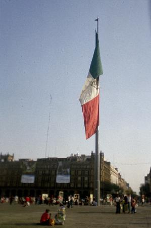 Mexico City, Mexico: Zocalo in the Centro City district