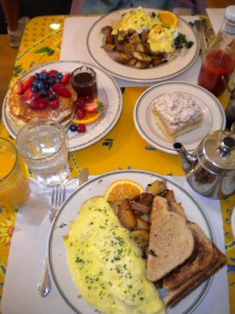 San Francisco, Kalifornien: Breakfast at Mama's
