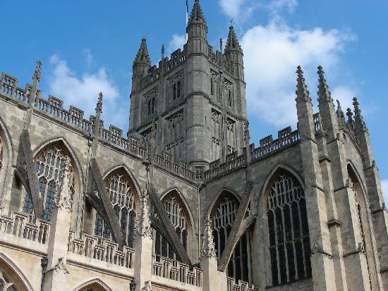 İngiltere, UK: Magnificent Bath Abbey