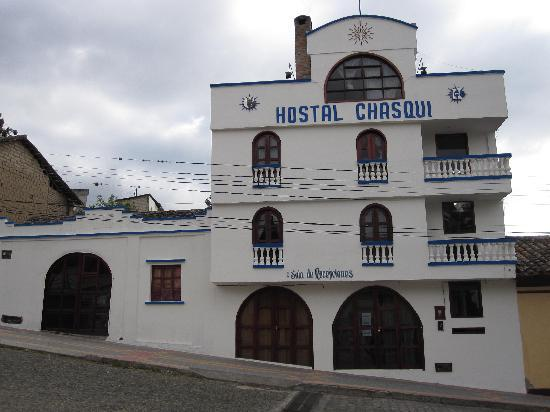 Hostal Chasqui: The front of the hostel