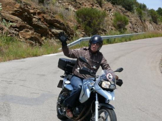Vilacolum, Espagne : Mooi centraal gelegen locatie om vandaar prachtige motortoertochten te maken