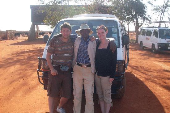 Baobab Beach Resort & Spa: Us with our safari guide kennedy