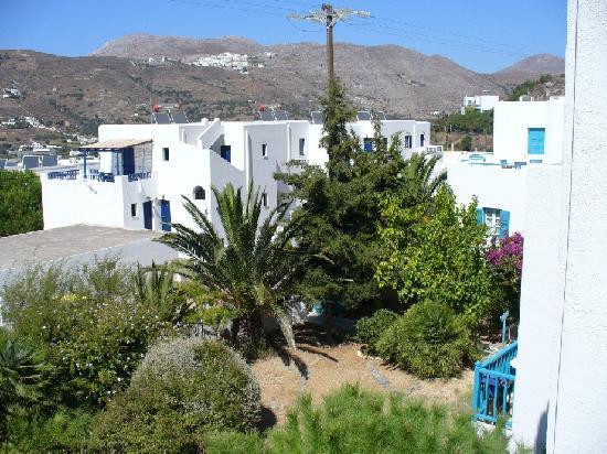 Gryspo's Hotel: hotel garden