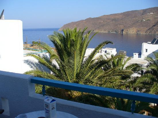Gryspo's Hotel: aegiali bay