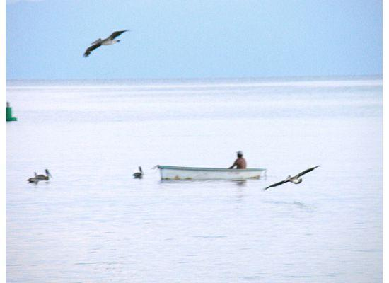 La Cruz de Huanacaxtle, Mexico: Fisherman at Dawn