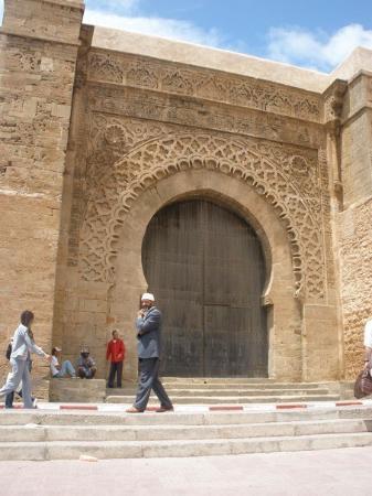 Kasbah des Oudaias: Entrada principal de la ciudad antigua