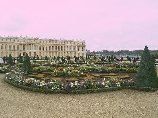 Paris, France: The gardens at Versailles