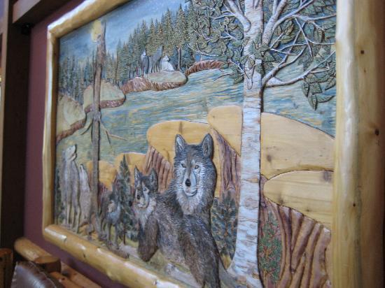 Great Wolf Lodge Poconos: hotel art