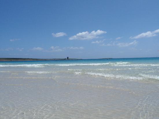 La Pelosa Beach: la spiaggia con l'isola piana