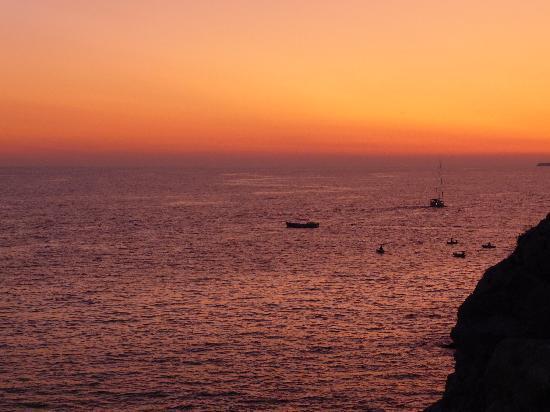 Villa Adriatica: Sunset at Buza Bar