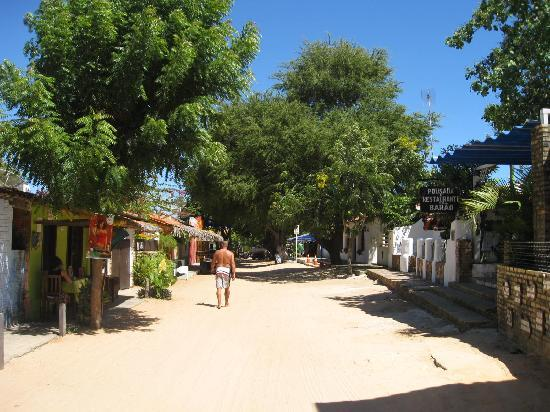 Jericoacoara, CE: The sandy streets