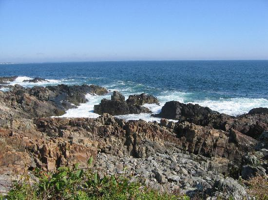 Marginal Way: View from Walk