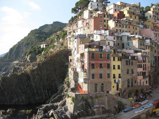 La Scogliera: Riomaggiore, apt is above swim area