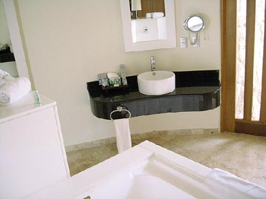 One of two sinks
