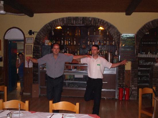Nafsika Hotel: Enjoy Speros and Chris