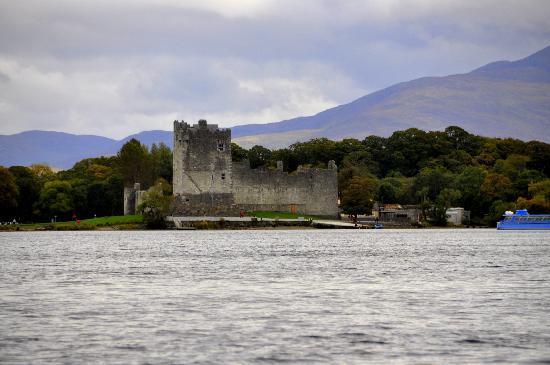 International Hotel Killarney: Ross Castle as we approached from boat