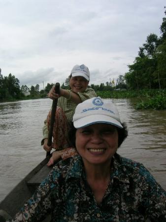 Hô-Chi-Minh-Ville, Vietnam : Paddling in My Tho.