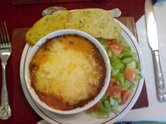 Lynbar Guesthouse: Mmmm Lasagne!
