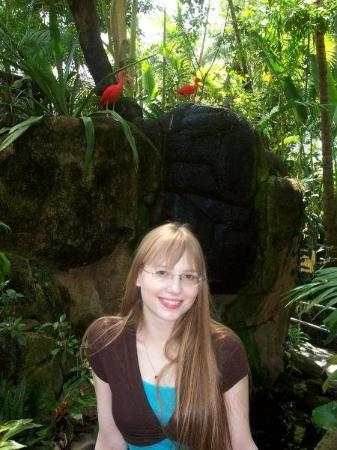 me at Moody Gardens on April 5th, 2008