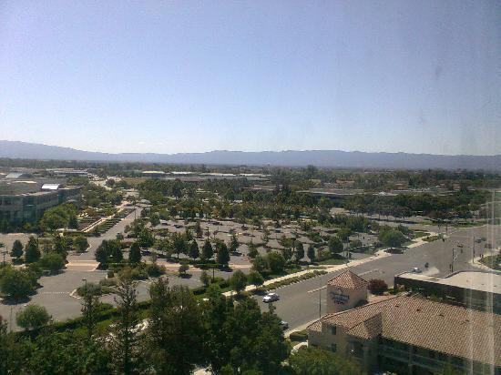 Crowne Plaza San Jose - Silicon Valley: View towards Santa Clara
