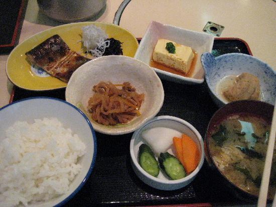 โรงแรมสุมิโช: Traditional Japanese breakfast, Sumisho Hotel Tea Room