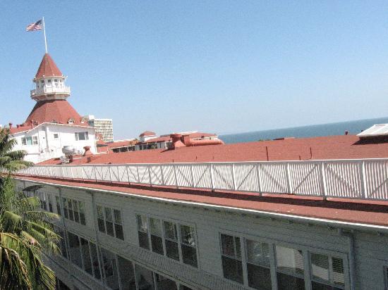Hotel del Coronado: View from my room