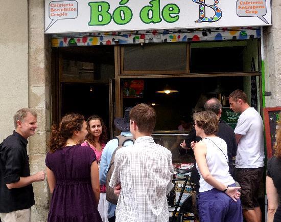 Bo de B: Friends enjoying a great meal!