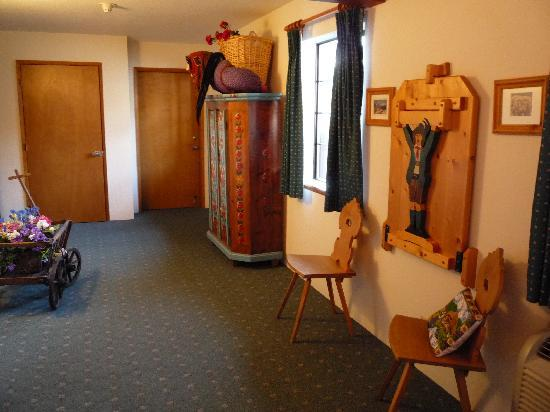 Hotel Pension Anna: Hallway