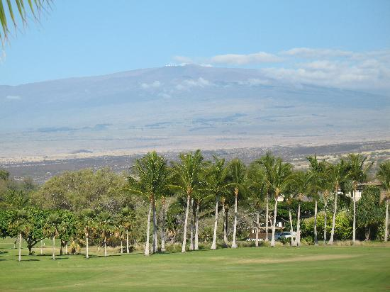 Vista Waikoloa: Mauna Kea from the Lanai