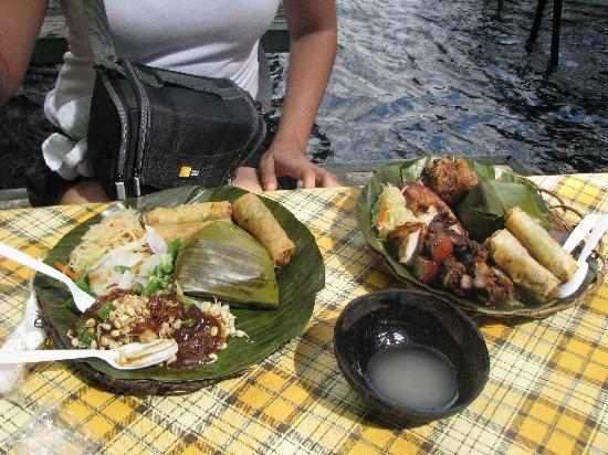 Free Lunch Eat By The Falls Picture Of Villa Escudero
