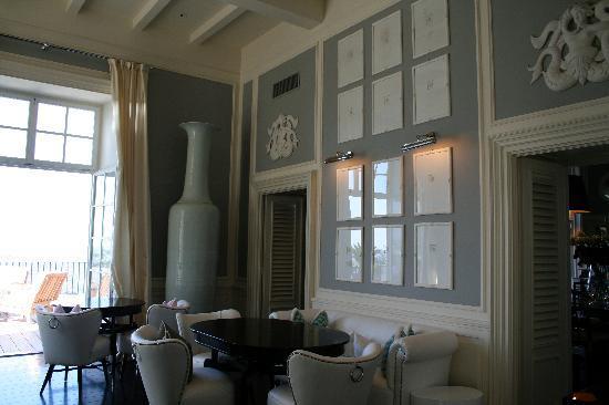 J.K.Place Capri: restaurant area