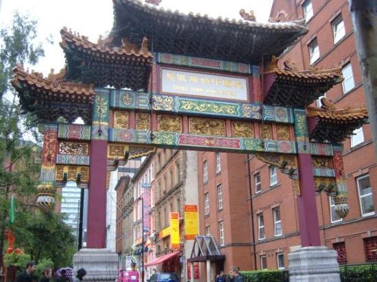 Entrada a Chinatown, Manchester