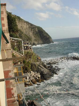 La Scogliera: Balcony view